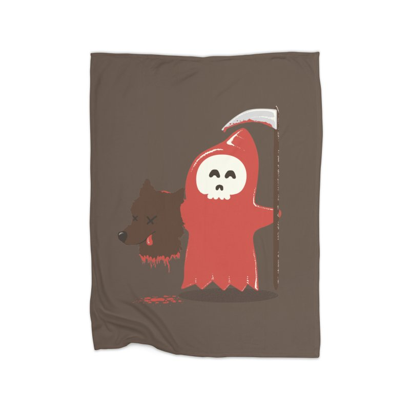 Little Death Riding Hood Home Blanket by coyotealert