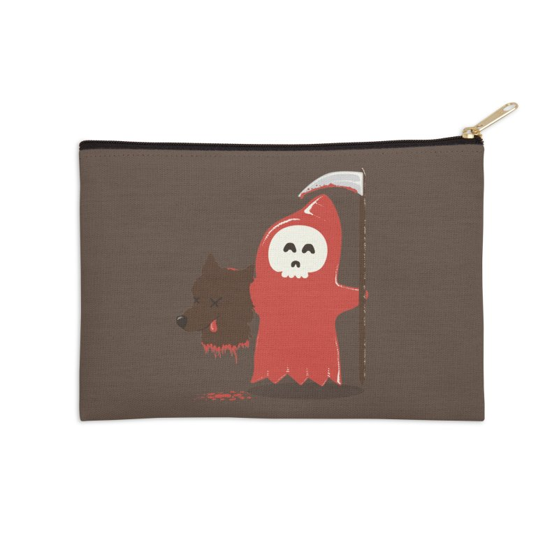 Little Death Riding Hood Accessories Zip Pouch by coyotealert