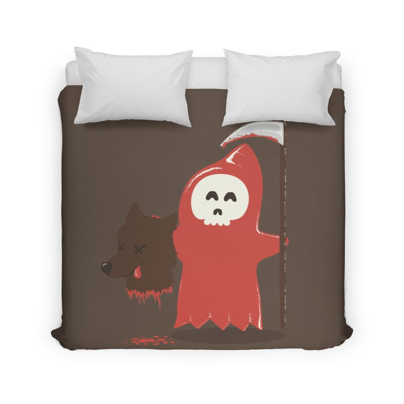 Little Death Riding Hood Home Duvet by coyotealert