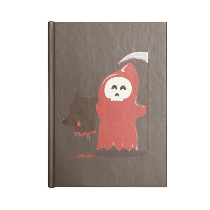Little Death Riding Hood Accessories Notebook by coyotealert