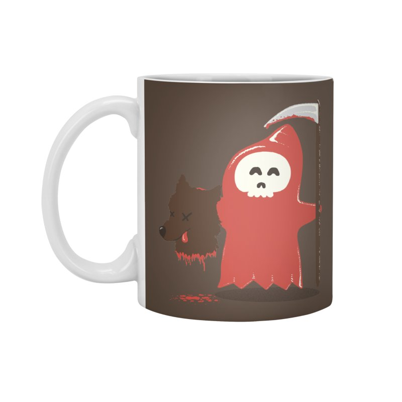 Little Death Riding Hood Accessories Mug by coyotealert