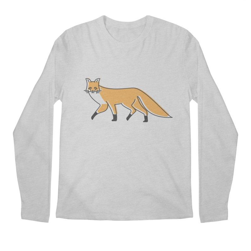 Monofox Men's Longsleeve T-Shirt by coyotealert