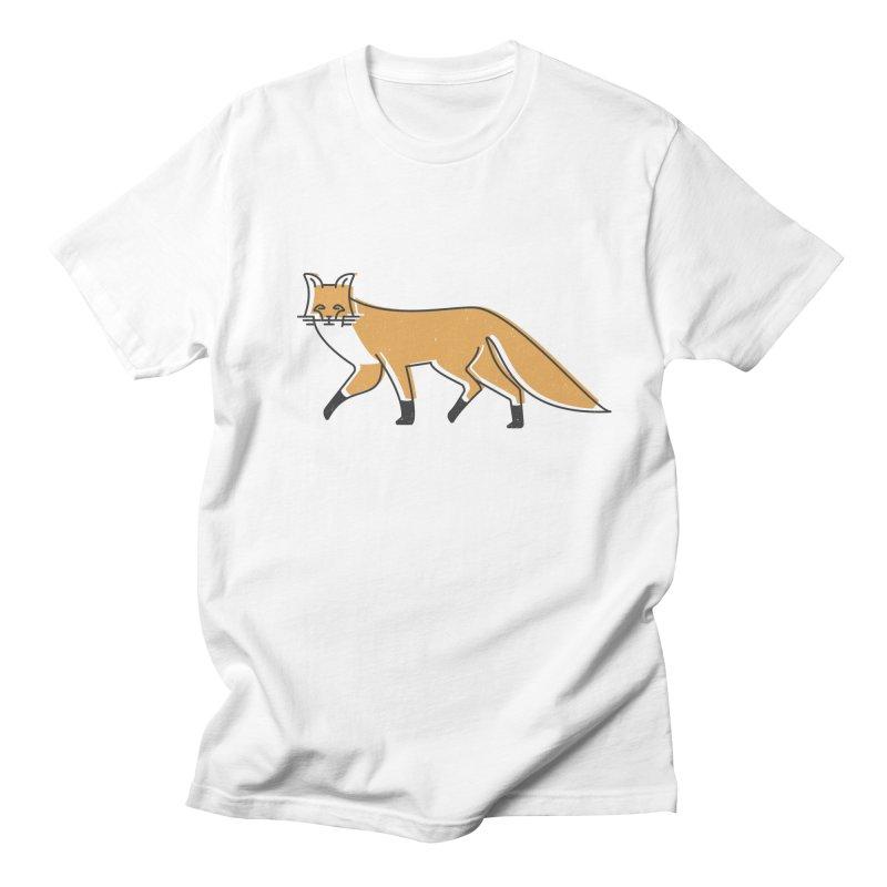 Monofox Men's T-Shirt by coyotealert