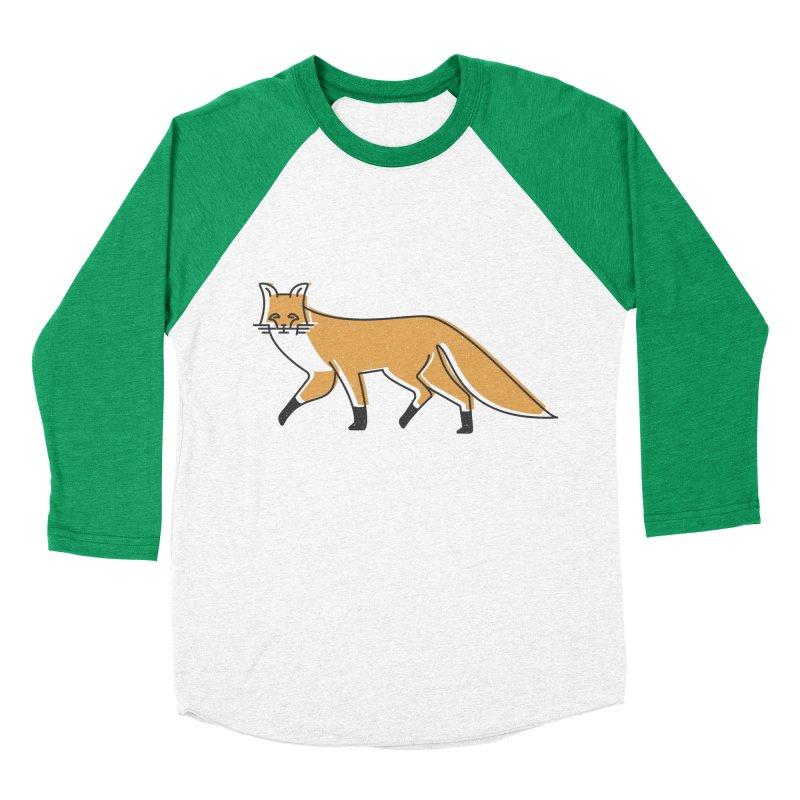 Monofox Women's Baseball Triblend Longsleeve T-Shirt by coyotealert