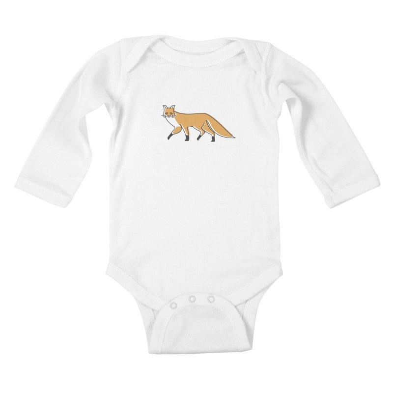 Monofox Kids Baby Longsleeve Bodysuit by coyotealert