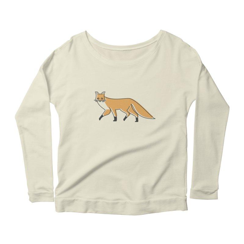 Monofox Women's Scoop Neck Longsleeve T-Shirt by coyotealert