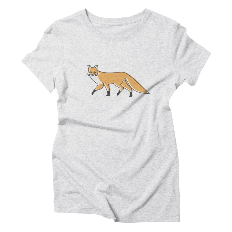 Monofox Women's Triblend T-shirt by coyotealert