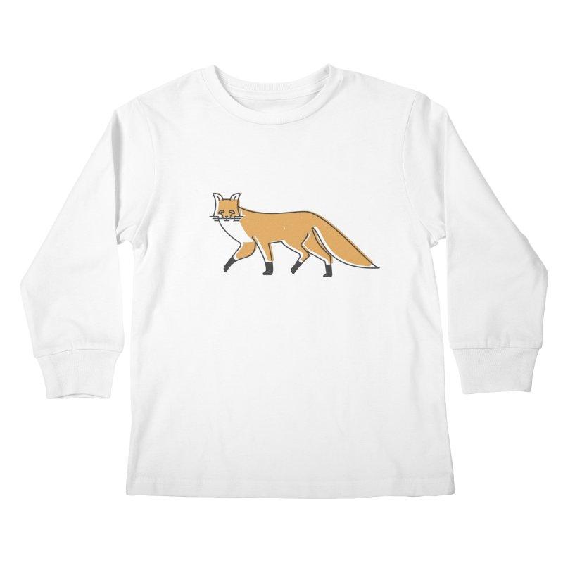 Monofox Kids Longsleeve T-Shirt by coyotealert