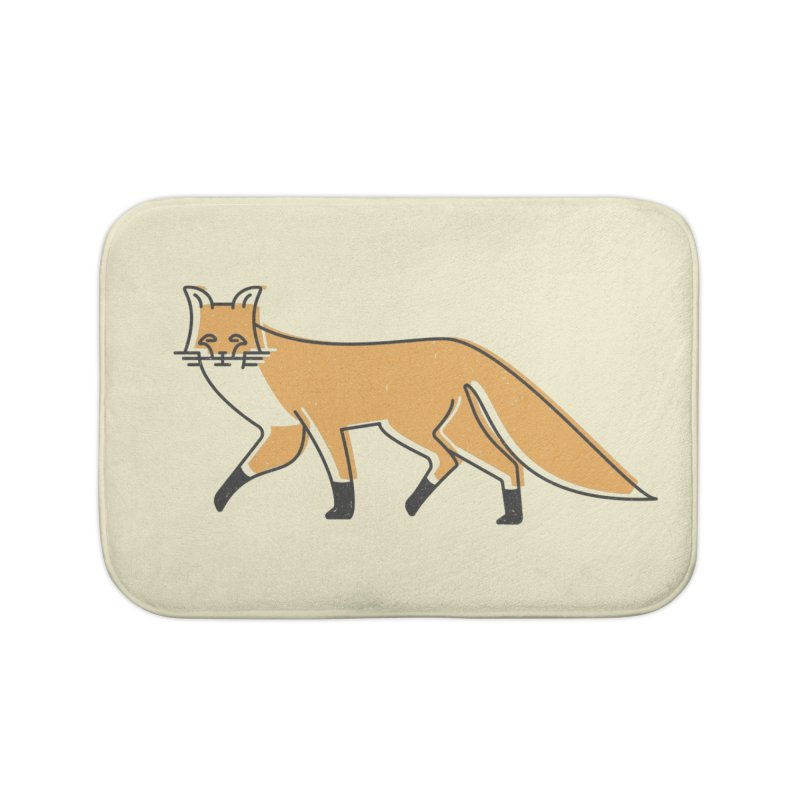 Monofox Home Bath Mat by coyotealert