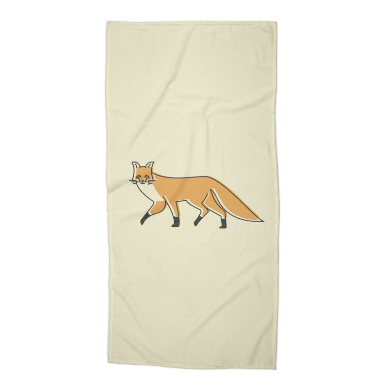 Monofox Accessories Beach Towel by coyotealert