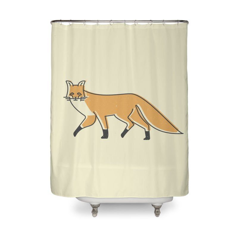 Monofox Home Shower Curtain by coyotealert