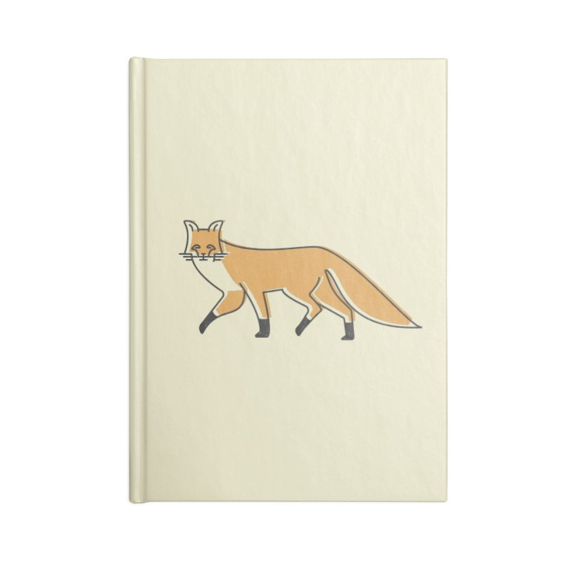 Monofox Accessories Notebook by coyotealert