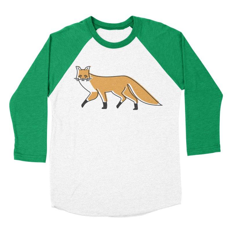 Monofox Men's Baseball Triblend Longsleeve T-Shirt by coyotealert