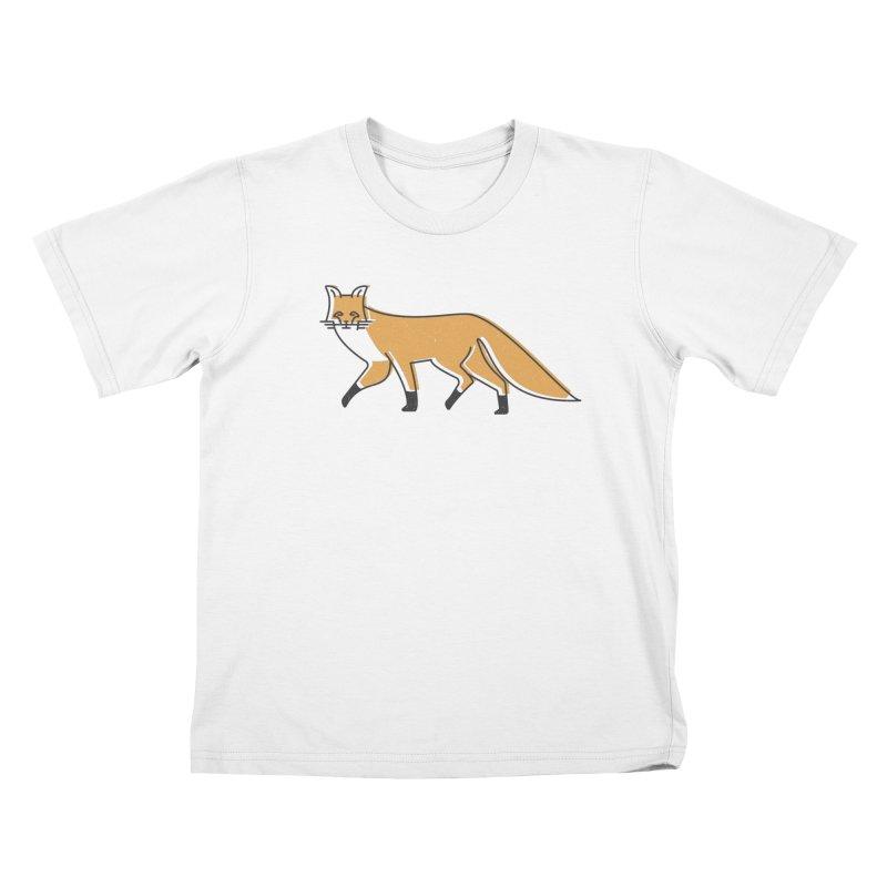 Monofox Kids T-Shirt by coyotealert