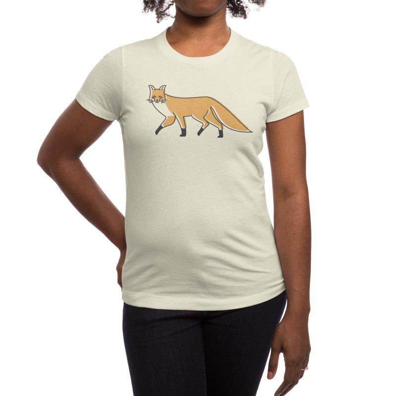 Monofox Women's T-Shirt by coyotealert