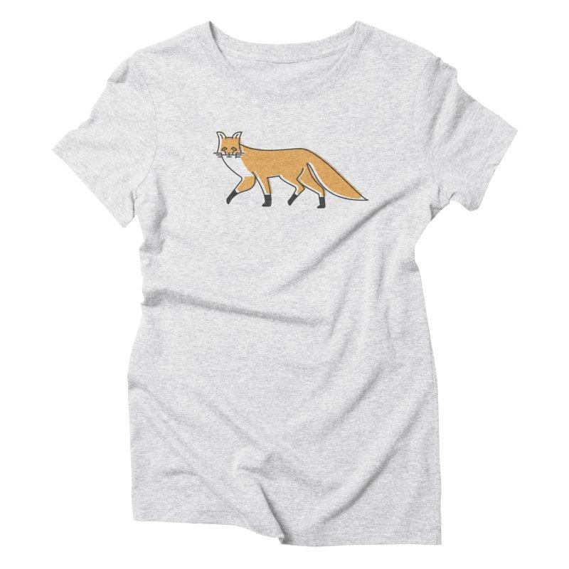 Monofox Women's Triblend T-Shirt by coyotealert