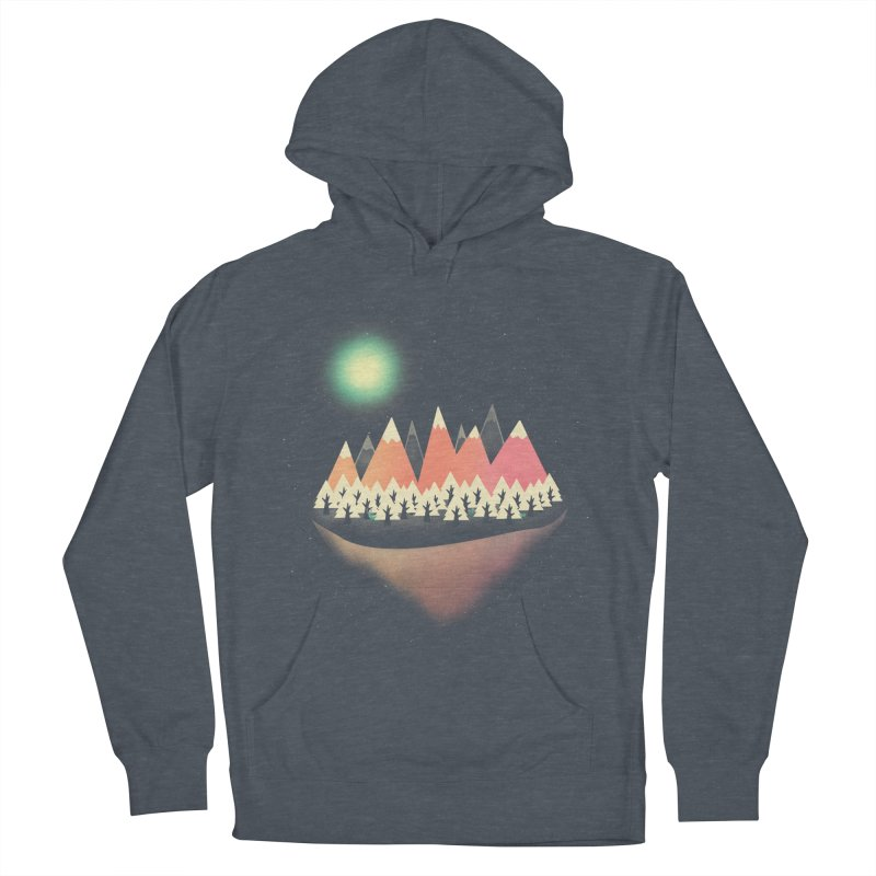 The Other Side Women's French Terry Pullover Hoody by coyotealert