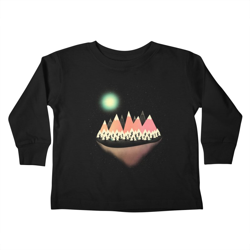 The Other Side Kids Toddler Longsleeve T-Shirt by coyotealert