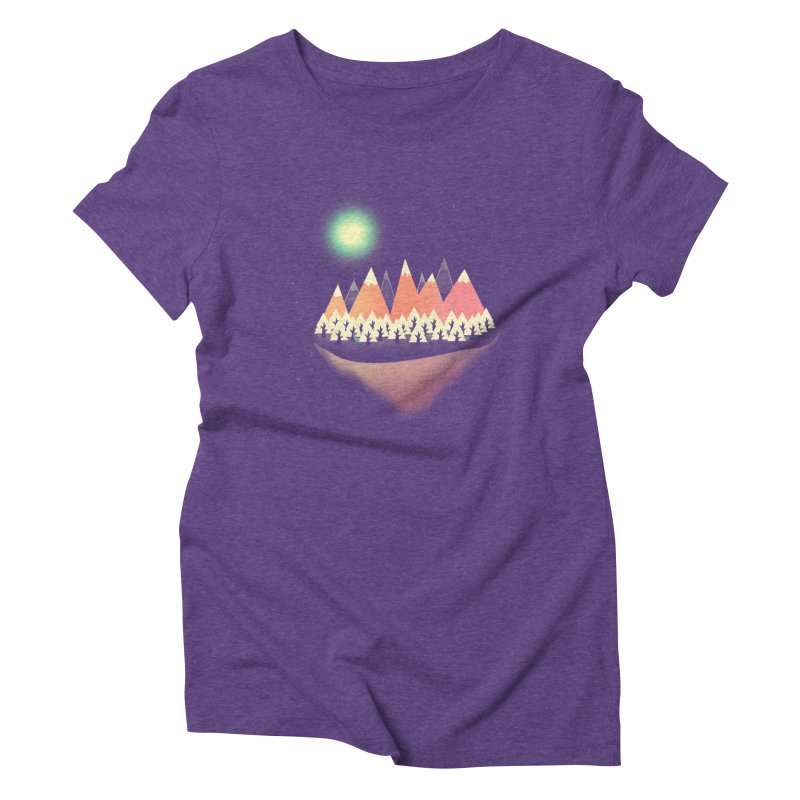 The Other Side Women's Triblend T-Shirt by coyotealert