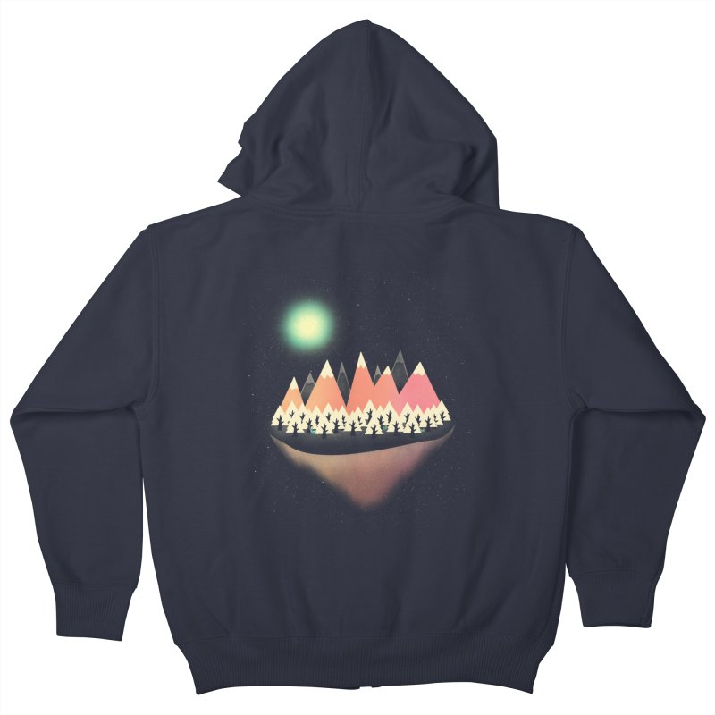 The Other Side Kids Zip-Up Hoody by coyotealert