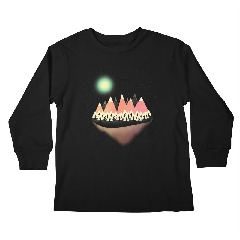 The Other Side Kids Longsleeve T-Shirt by coyotealert