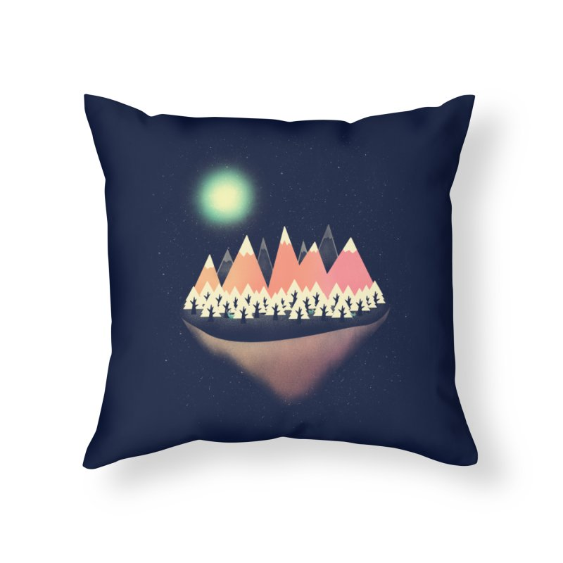 The Other Side Home Throw Pillow by coyotealert