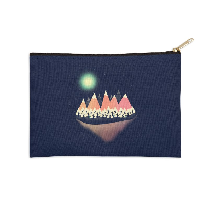 The Other Side Accessories Zip Pouch by coyotealert