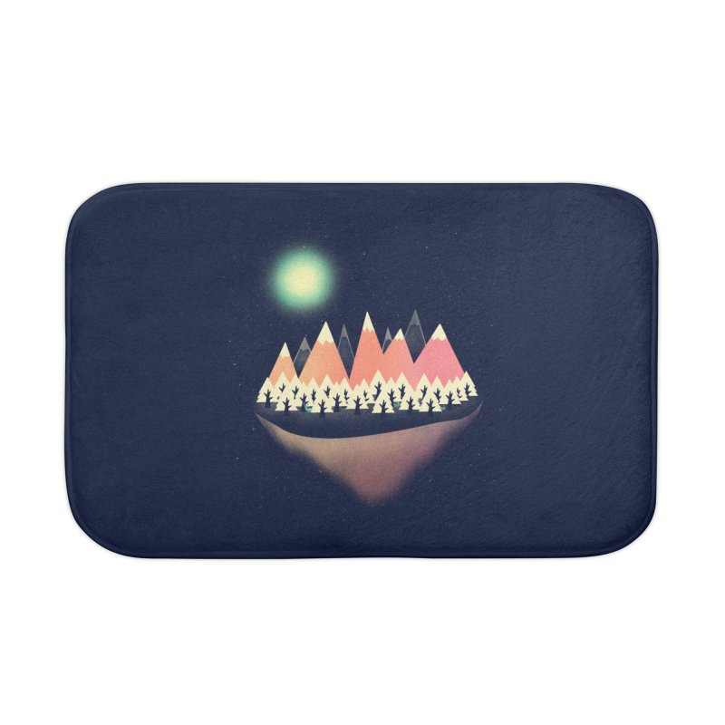 The Other Side Home Bath Mat by coyotealert