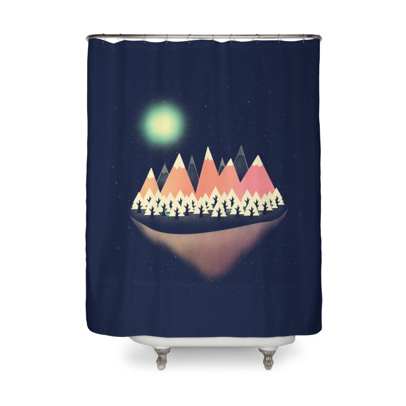 The Other Side Home Shower Curtain by coyotealert