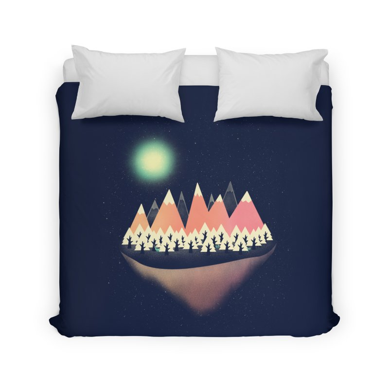 The Other Side Home Duvet by coyotealert