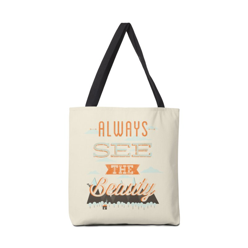 Always See The Beauty Accessories Bag by coyotealert