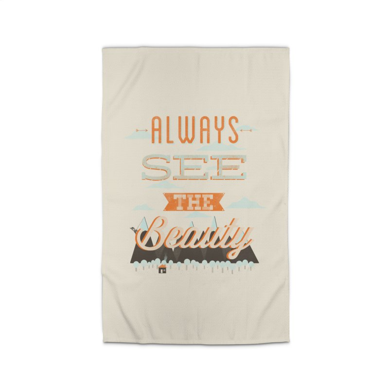 Always See The Beauty Home Rug by coyotealert