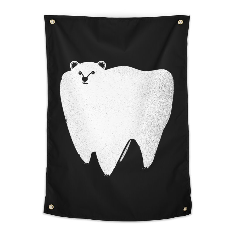 Molar Bear Home Tapestry by coyotealert