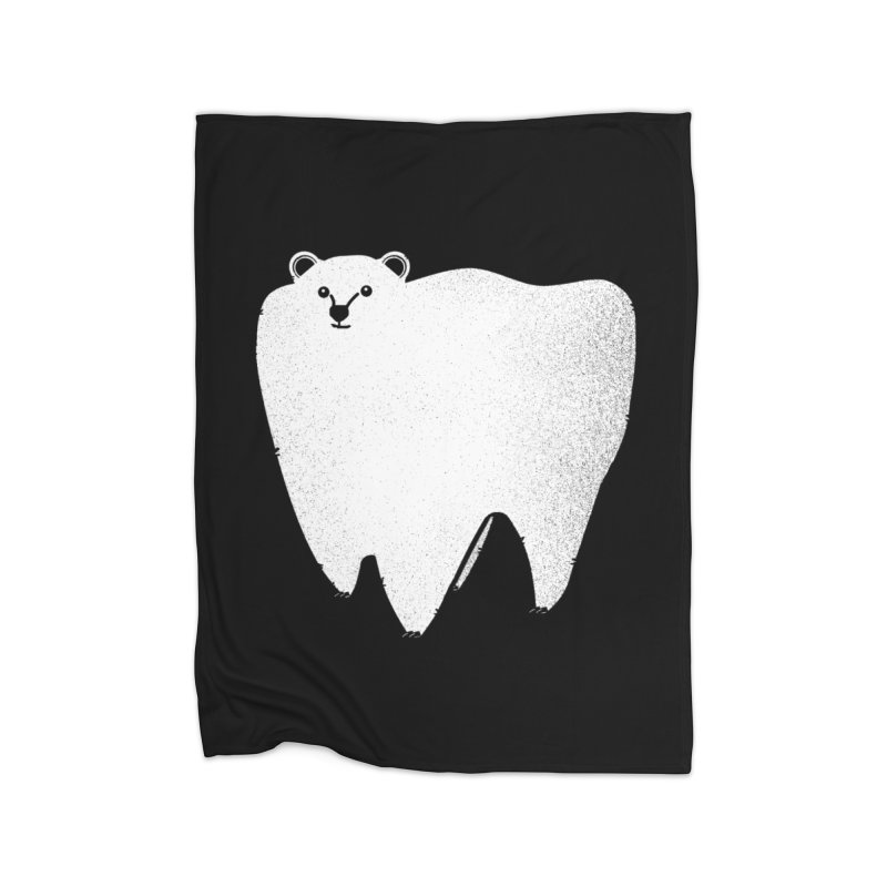 Molar Bear Home Blanket by coyotealert