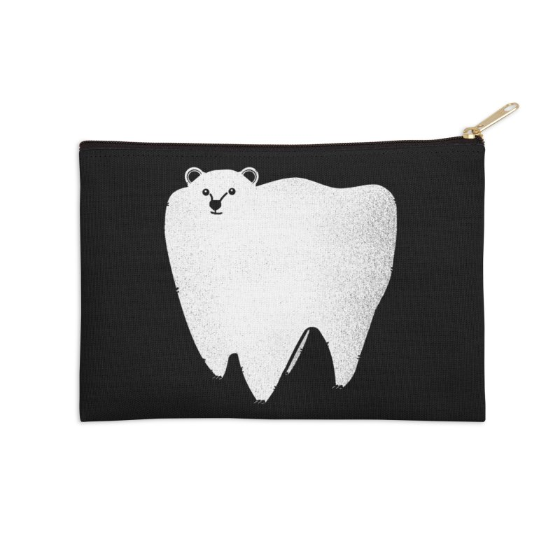 Molar Bear Accessories Zip Pouch by coyotealert