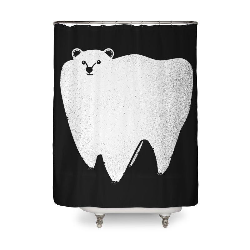 Molar Bear Home Shower Curtain by coyotealert