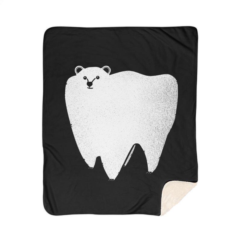 Molar Bear Home Blanket by coyotealert