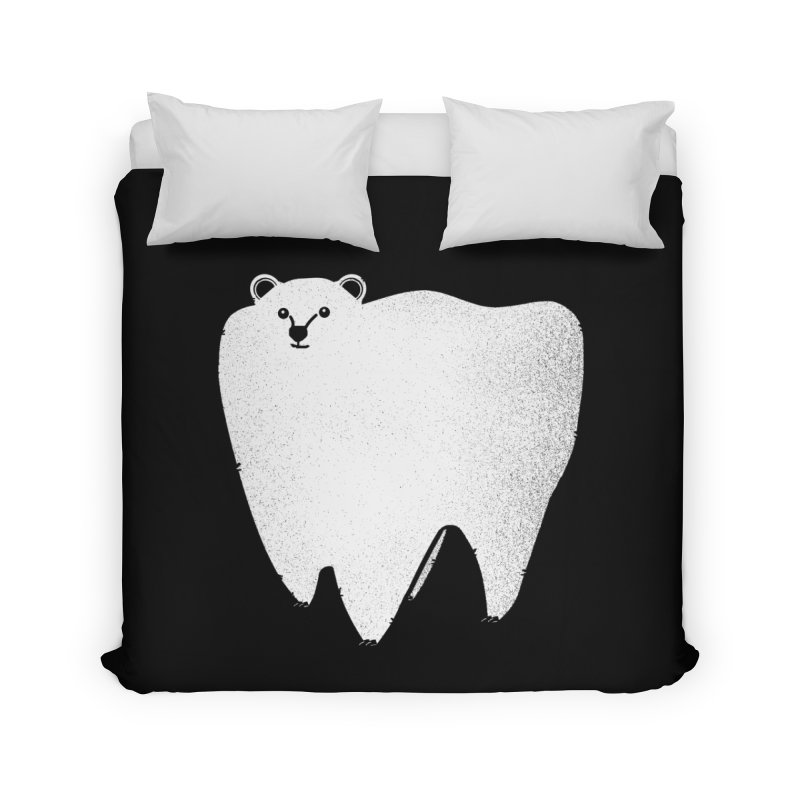 Molar Bear Home Duvet by coyotealert