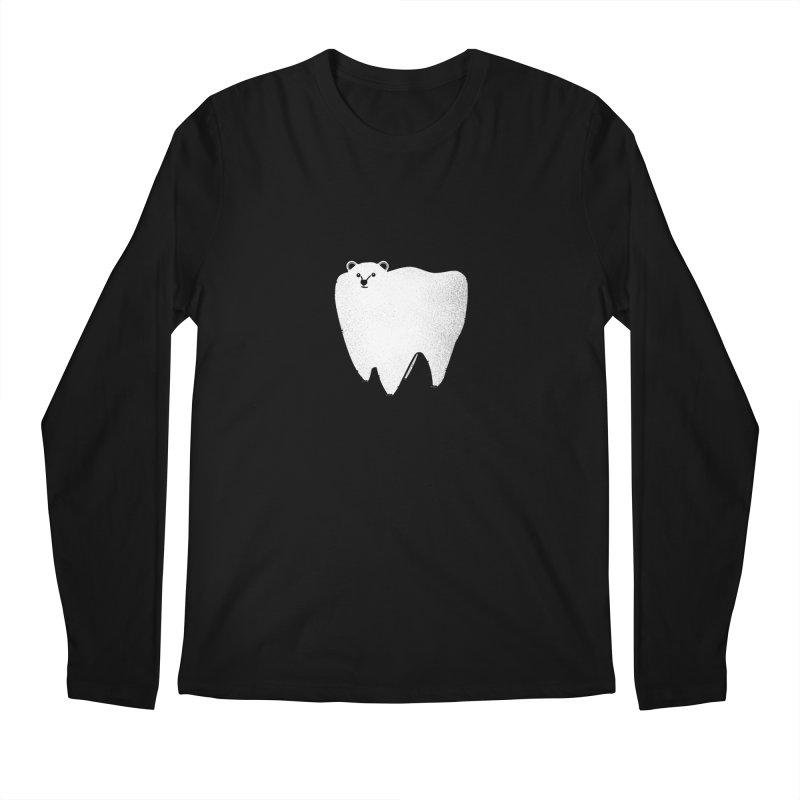 Molar Bear Men's Longsleeve T-Shirt by coyotealert