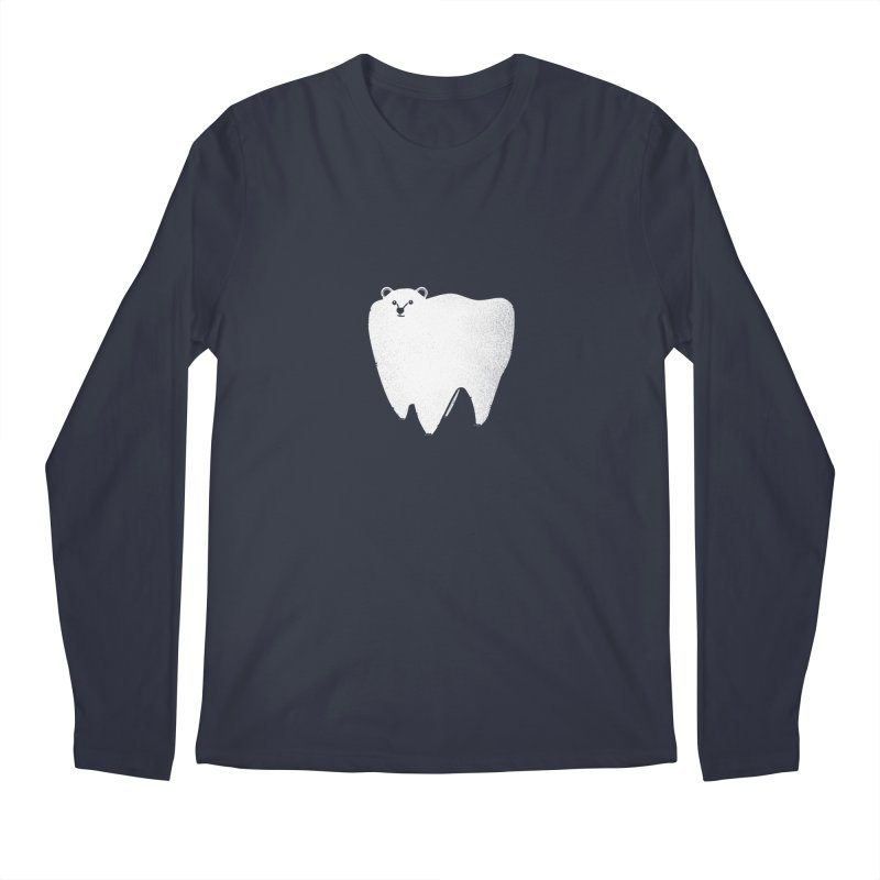 Molar Bear Men's Longsleeve T-Shirt by coyotealert