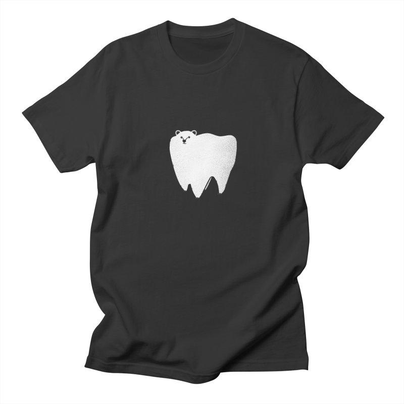 Molar Bear Men's Regular T-Shirt by coyotealert