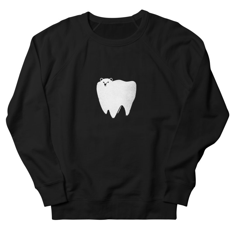Molar Bear Women's French Terry Sweatshirt by coyotealert