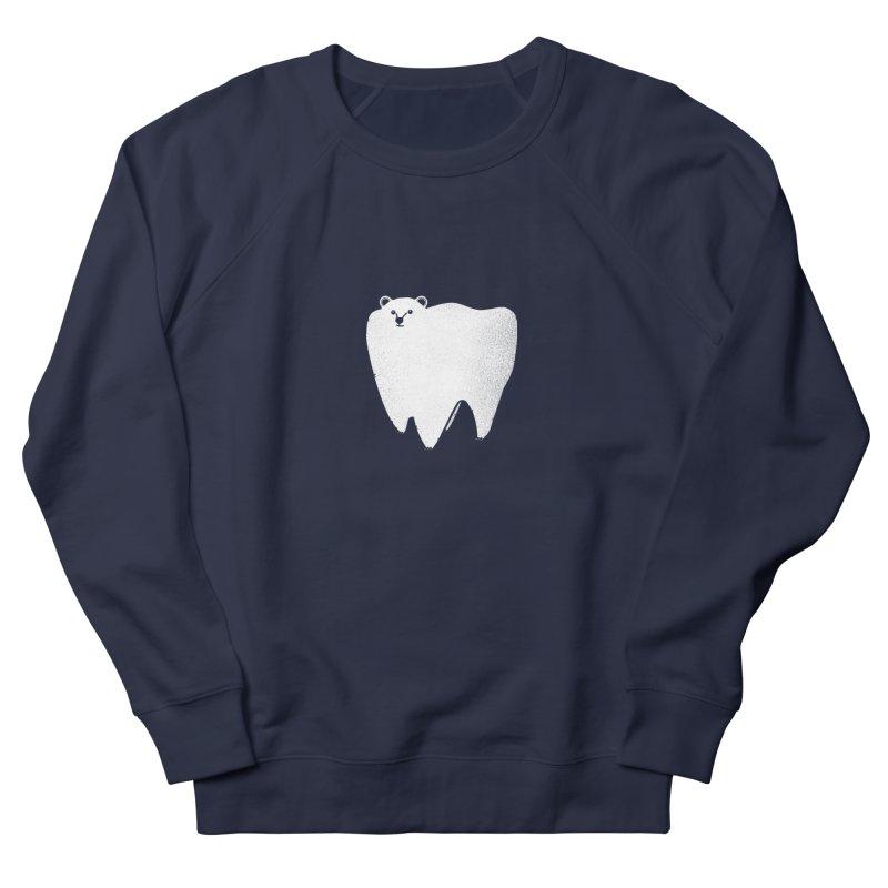 Molar Bear Women's French Terry Sweatshirt by coyotealert