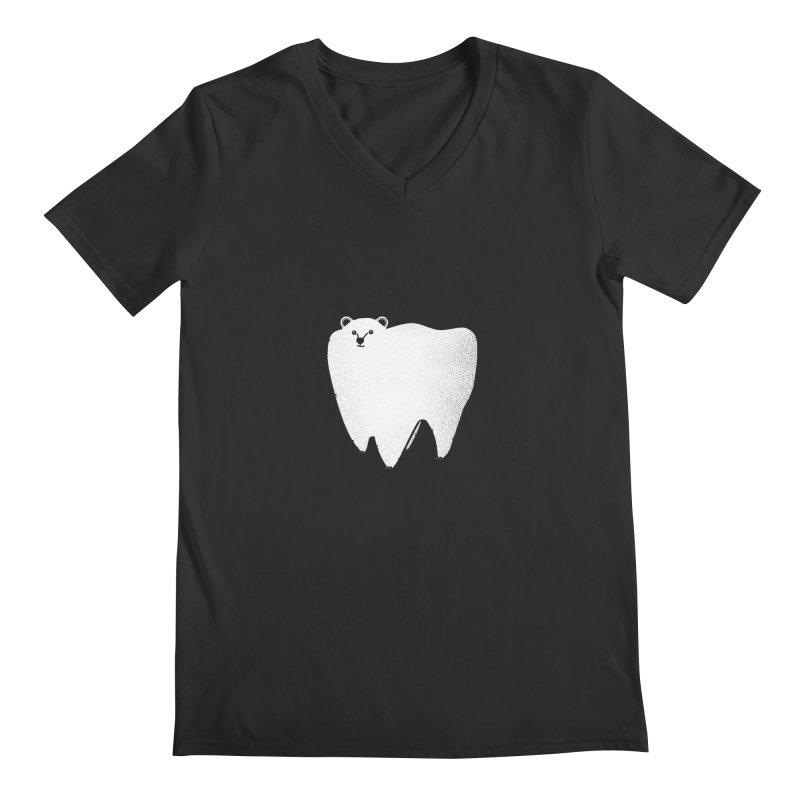Molar Bear Men's V-Neck by coyotealert