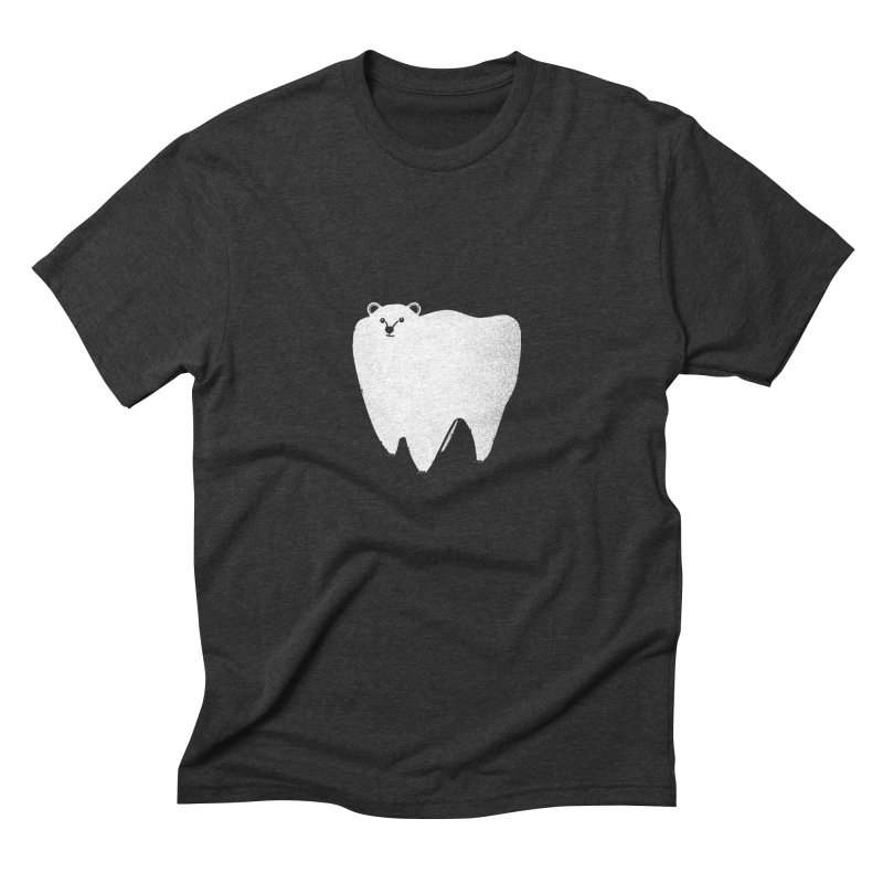 Molar Bear Men's Triblend T-shirt by coyotealert