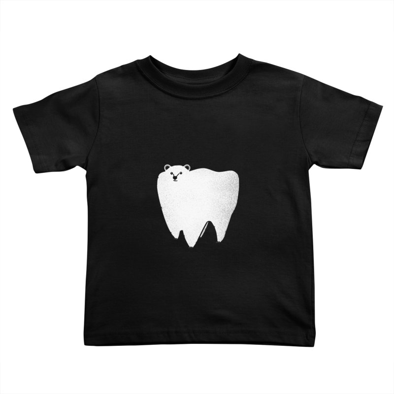 Molar Bear Kids Toddler T-Shirt by coyotealert