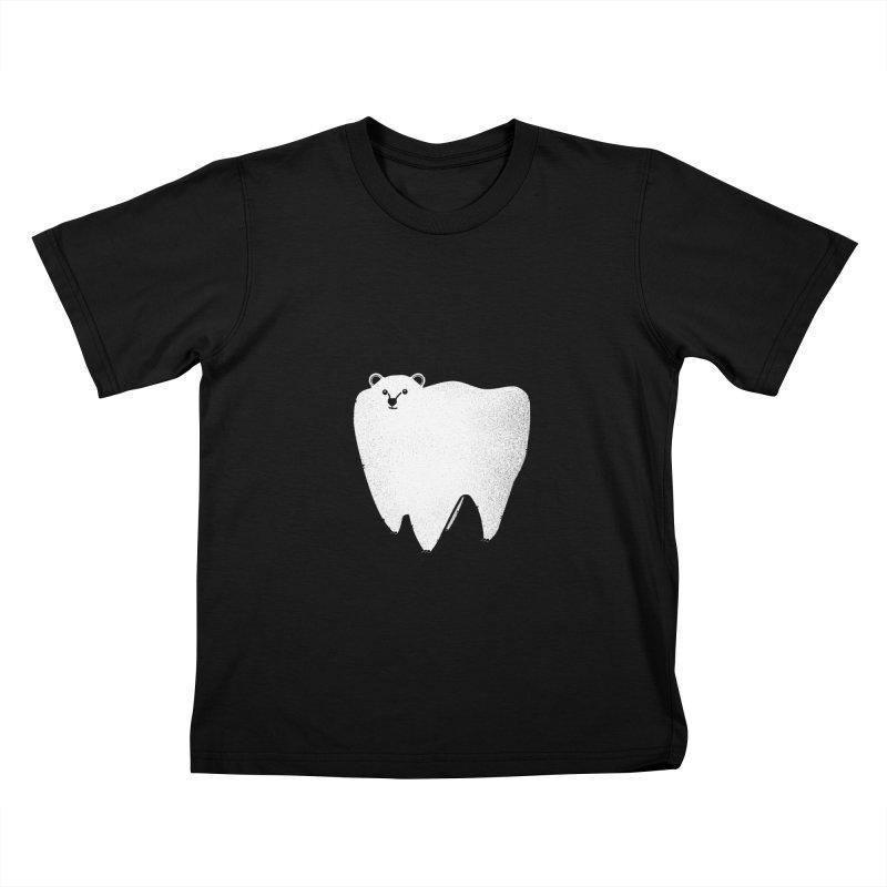 Molar Bear Kids T-Shirt by coyotealert