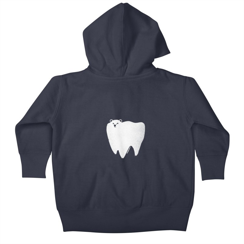 Molar Bear Kids Baby Zip-Up Hoody by coyotealert