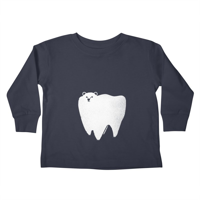 Molar Bear Kids Toddler Longsleeve T-Shirt by coyotealert