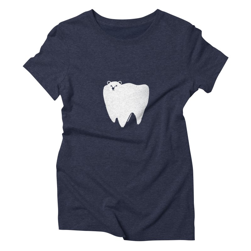 Molar Bear Women's Triblend T-shirt by coyotealert